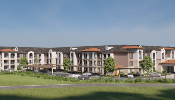 Palladium Garland Senior Living - In Construction 2021